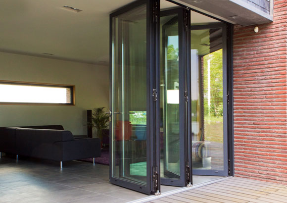 Bi fold doors and bifold sliding door systems scotland for Internal folding doors systems